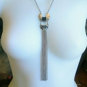 4 for $15 Long Abstract Dangly Art Deco Necklace